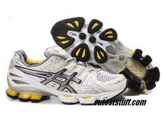 69a3ad145ef Asics Gel Kinsei 2 Grey Silver White 0203 Cheap Running Shoes