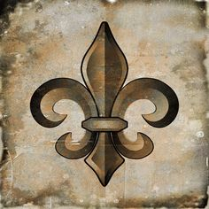 Art in Style Fleur de Lis Bronze Giclee on Canvas Wall Art - Overstock™ Shopping - Big Discounts on Art in Style Canvas
