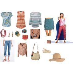 Mostly Natural, created by tayachroma on Polyvore