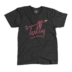 """Tally"" designed by Katie Campbell. Folks who live in Tallahassee, FL call it ""Tally"" for short. I wanted to combine the love of my hometown and Florida State University in one simple design. Go 'Noles! Florida State University, Florida State Seminoles, Garnet And Gold, You Are The Father, Vintage Tees, Shirt Designs, T Shirts For Women, My Style, Mens Tops"