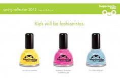 Great nail polish that is safe for little fingers.