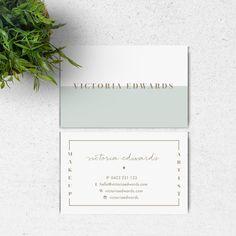 Victoria / / pre-gemaakt visitekaartje door StoriesDesignStudio