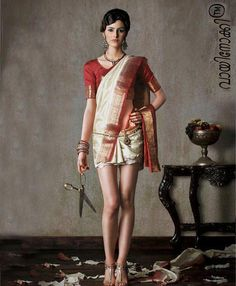 Short Sari...hahaha, for summer, in my case for always