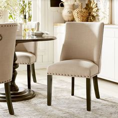 Corinne's larger seat and scoop back for added support provide deluxe style and…