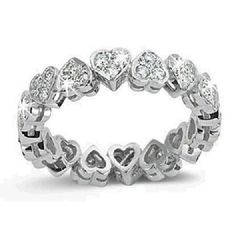 """Oh be still my beating heart! I love """"Heart"""" diamonds. Hows this for a treasure: """"Infinity Heart Diamond Ring"""". I Love Jewelry, Heart Jewelry, Diamond Jewelry, Jewelry Rings, Jewelry Box, Jewelry Accessories, Fine Jewelry, Jewlery, Black Gold Jewelry"""