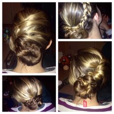 cute hair styles by my roommate Allison