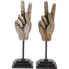 Victory Hand Sculpture
