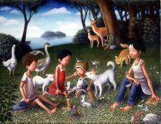 - Paintings by Shinya Okayama