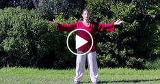 Fit Life Videos - Tai Chi 5 Minutes a Day Module 04 easy for beginners Ti Chi For Beginners, Yoga Poses For Beginners, Workout For Beginners, Qi Gong, Tai Chi Movements, Tai Chi Video, Tai Chi Clothing, Taekwondo, Tai Chi Moves