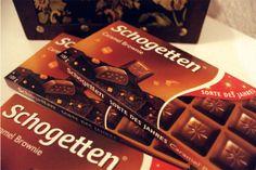 Schogetten Caramel Brownie – Sorte des Jahres Alpenvollmilch-Schokolade mit Brownie Geschmack und knusprigen Caramelstückchen