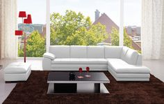 Italian Leather Sectional | Contemporary Sectional | Modern Sectional| New York NY | New Jersey NJ