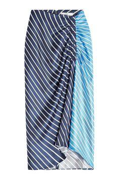 #xmas #Christmas #STYLEBOP.com (FR/NL/IT) - #Tibi Tibi Delphina Printed Silk Skirt - AdoreWe.com