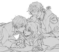 Mystic Messenger Game, Mystic Messenger Fanart, Mystic Messenger Characters, 707 X Mc, Kissing Drawing, Luciel Choi, Anime Bebe, Yandere Anime, Saeran