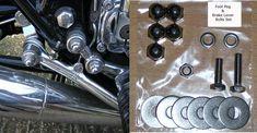 Kawasaki Z1/Z900/Z1000 - Footpeg/ Foot Peg/Brake Bolts Set - S/S    eBay