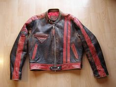 80s Chipie Cafe-Racer motorcycle jacket by ZIPUPbcn on Etsy