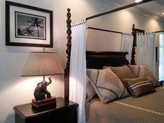 Bedroom interior design by Chi Nguyen & Kristian McKeever, Baer's Furniture Melbourne, FL