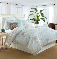 Beach Bedding Collections Slip Away To The Soothing Sline