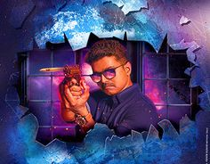 "Check out new work on my @Behance portfolio: ""Theri(Ilayathalapathy Vijay) poster"" http://be.net/gallery/50678745/Theri(Ilayathalapathy-Vijay)-poster"