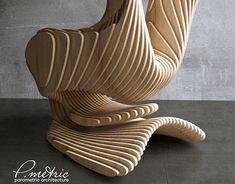 """Parametric wall is in the form of the wave. Decoration of the interior of the bar """" hard bar"""" in the city of Sochi . The material used birch plywood 15 mm Plywood Furniture, Diy Furniture, Furniture Design, 3d Wall Tiles, Parametric Design, Modern Architecture, Wood Crafts, Wall Decor, Behance"""