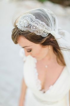 A Juliet Cap Veil and Hayley Paige Lace For A Bohemian Style Wedding in Mexico | Love My Dress® UK Wedding Blog