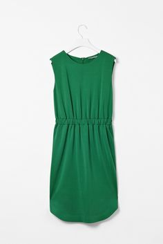 Green dress from Cos.