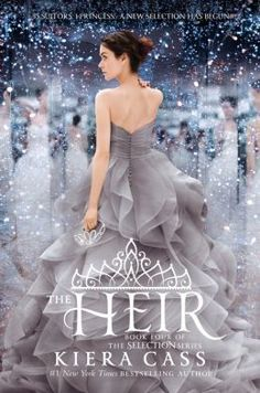 The Heir by Kiera Cass. I can't wait for the last book. It doesn't come out till next year.