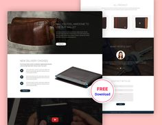 Billy- Wallet Shop free PSD Template is a PSD wallet shop Template, specially designed for Wallet, Bag, Watch or single product showcase. You can use this beautiful template. You can customize it very easily to fit your business needs. If you like my templates, please rate it 5 stars. It's very useful for me. Designed … Free Website Templates, Psd Templates, User Interface, Watch, Stars, Business, Shopping, Beautiful, Sterne