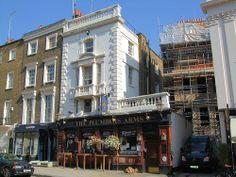 The Plumbers' Arms Pub, Belgravia, London.