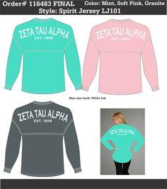 Mason Dixon Line, Zeta Tau Alpha, Spirit Jersey, Happy Tears, Sorority Shirts, White Ink, Lamb, Daughter, Sweatshirts