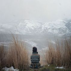 idaho, mountains, quiet place, the view, snow