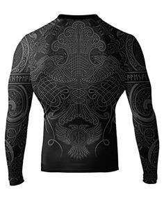 online shopping for Raven Fightwear Men's Nordic IBJJF Approved Rash Guard from top store. See new offer for Raven Fightwear Men's Nordic IBJJF Approved Rash Guard Plain Shirts, Cool T Shirts, Casual Shirts, Jiu Jitsu, Beachwear Fashion, Order T Shirts, African Fashion, African Style, African Tops