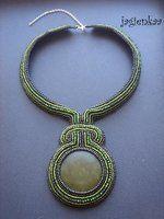 Jade shackled necklace - by jagienkaa on DeviantArt