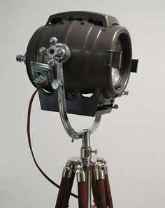 Vintage Hollywood Theater Stage Light Spotlight – We collect similar unique beauties – Only/Once – www.onlyonceshop.com