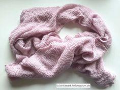 Lace-Schal puderrosa