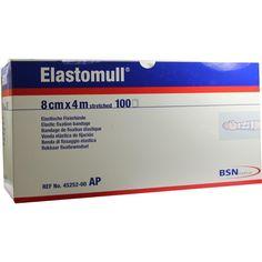 ELASTOMULL 8 cmx4 m 45252 elastisch Fixierb:   Packungsinhalt: 100 St Binden PZN: 03497627 Hersteller: BSN medical GmbH Preis: 62,97 EUR…