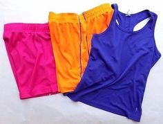 ❗ NEW LISTING 5.50 @SalesForToday  Lot of 3 Girls Athletic Active wear - Kids size 7/8 - Shorts and Tank Set - Dri