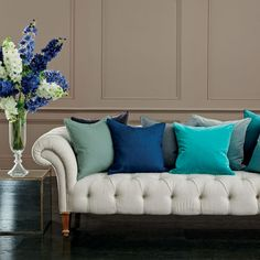 Chester 3-Seater Sofa #sofa #oka #spring