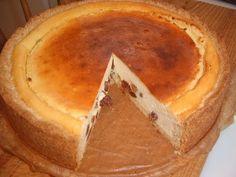 Пирог с творогом.