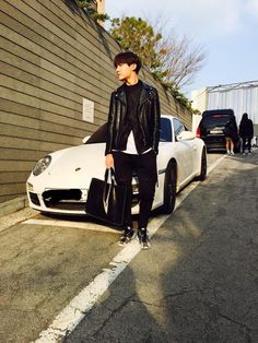 "BTS Tweet - Jhope (selca) 150403 [TRANS] ""Cars that match the members"" cr: ARMYBASESUBS"