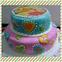 Torta cumpleaños infantil #torta #cumpleaños #infantil #fiesta #barbie