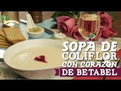 Haz que cada platillo sea especial en #SanValentín, prepara Sopa de Coliflor con Corazón de Betabel.   #CocinaFresca es presentada por Walmart ¡Suscríbete!