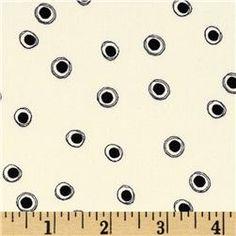 Loralie's Still Eyes Black/Ivory  Item Number: DF-410