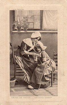 Mother Daughter Knitting | Flickr - Photo Sharing!