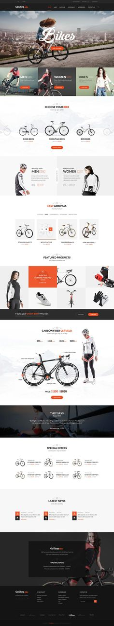 Go Shop Ecommerce PSD Template on Web Design Served. If you like UX, design, or design thinking, check out theuxblog.com