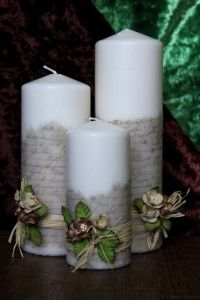 Couture bling satin unity candles set by fanciflamegirl on etsy velas decorativas candle decorationscandle centerpieceswedding centerpieceshomemade candlesdiy junglespirit Image collections