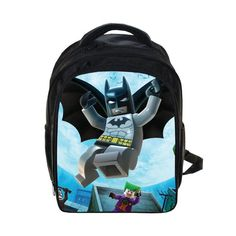 Anime Ninja Prints Backpack Kids School Bags For Boys Girls Daily Backpacks Children Backpack Book Bag Schoolbags Best Gift Bag