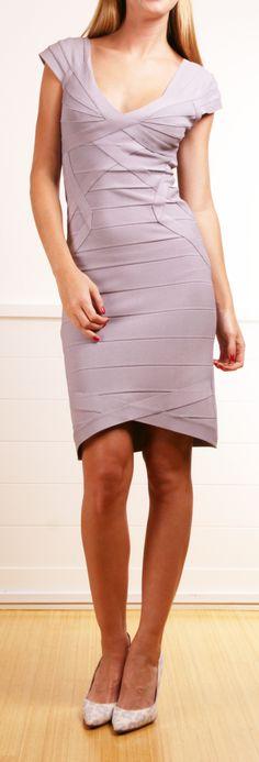HERVE LEGER DRESS, actually a cute dress