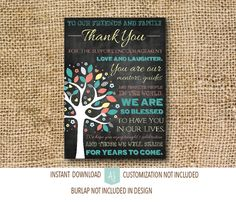 Printable sign for the wedding reception! Click through to see matching invites, thank you cards, and more. Just purchase, download, print, and use! Shop our 1000+ ideas for all of life's journeys!