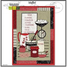 Pdf Pattern - Wallhanging Waffel Miak Design