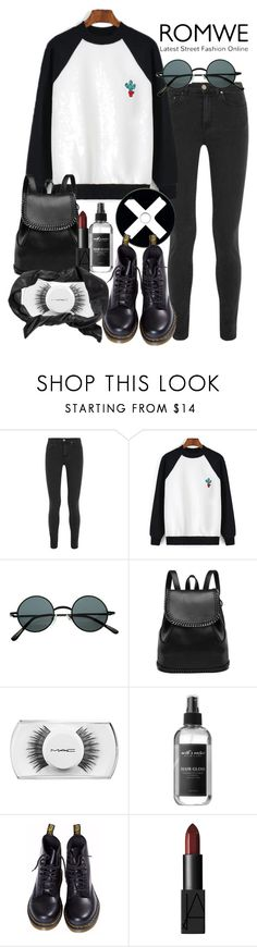 """""""Untitled #35"""" by daraipetra19 ❤ liked on Polyvore featuring Acne Studios, MAC Cosmetics, Dr. Martens, NARS Cosmetics, Pieces, women's clothing, women's fashion, women, female and woman"""